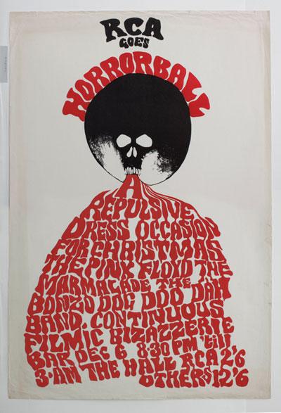 RCA Poster Trevor Hodgson Pink Floyd