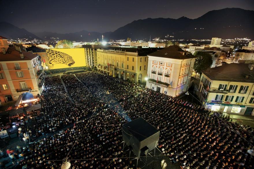 Piazza Grande, Festival del film Locarno