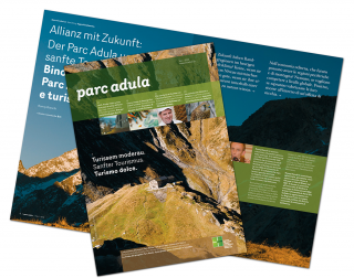 Parc Adula magazine