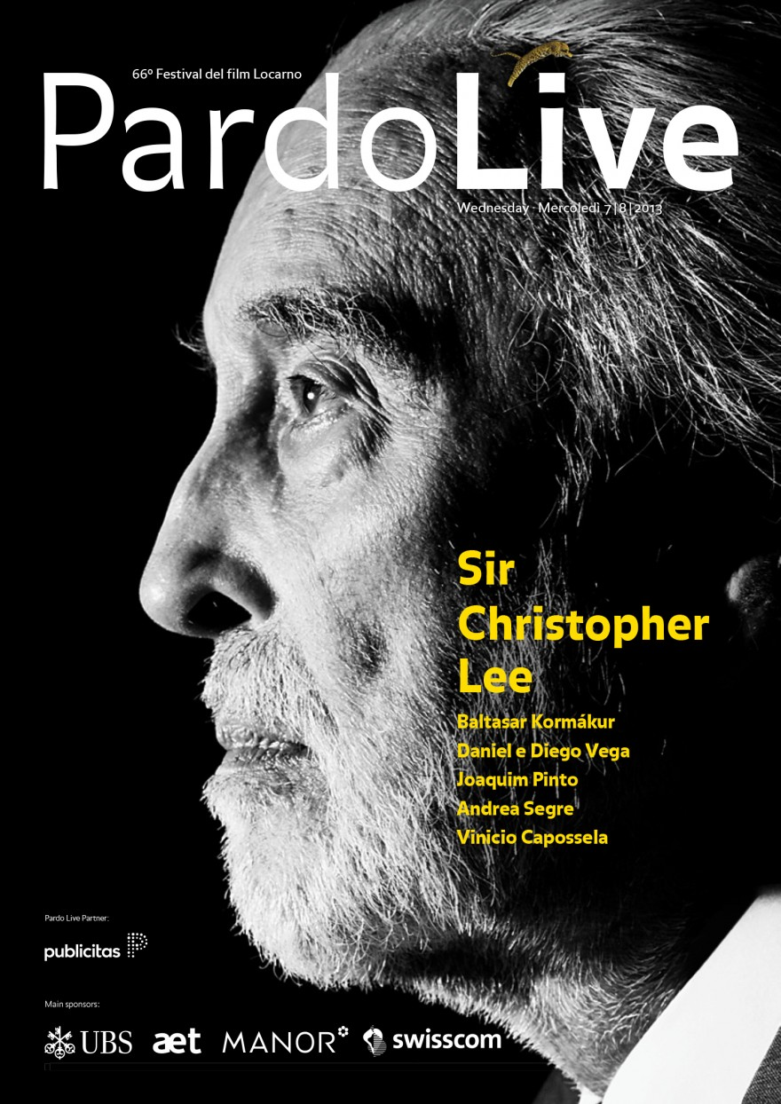 Pardo Live – Sir Christopher Lee