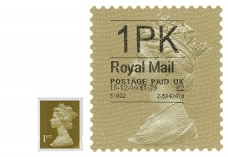 Royal Mail Super-stamp